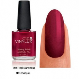 VINYLUX CND, Red Baroness, №139