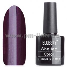 Гель-лак Shellac BlueSky, цвет: 80587 PLUM PAISLEY