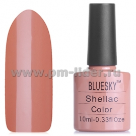 Гель-лак Shellac BlueSky, цвет: 40514/80514 COCOA