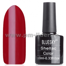 Гель-лак Shellac BlueSky, цвет: 80575 SCARLETT LETTER