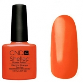 CND Shellac™ (Paradise) Electric Orange